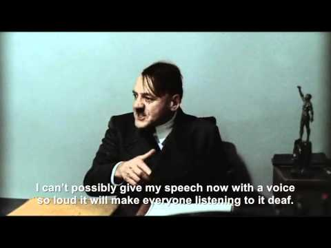 Hitler's sound problem