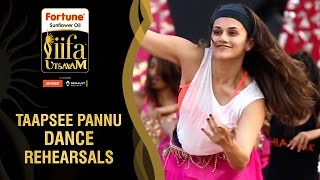 Taapsee Rehearsing for IIFA Utsavam 2016 | Dance Rehearsals | Be1forChennai