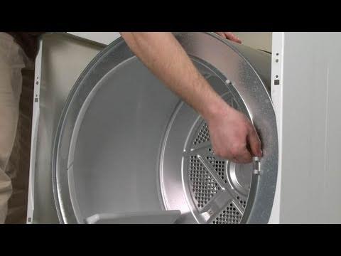 Front Drum Glide - Frigidaire Dryer