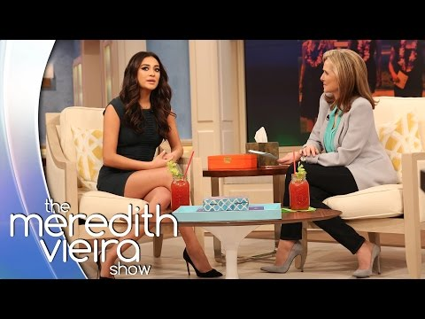 Shay Mitchell on Playing a Lesbian | The Meredith Vieira Show