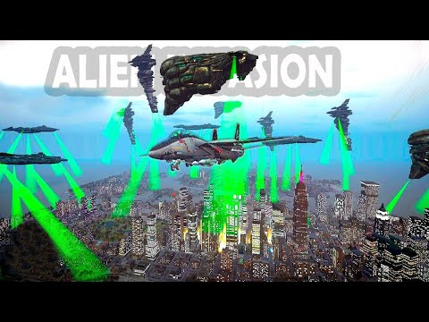 Grand Theft Auto IV - Alien Invasion (EVE Online)