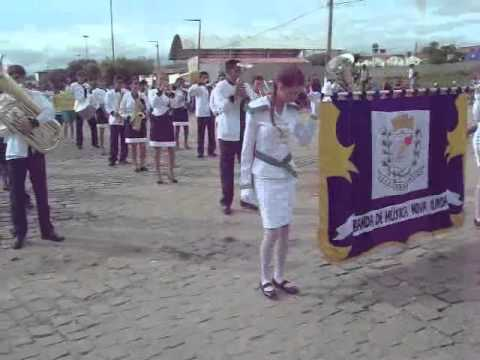 Desfile 14 de Abril Banda de Nova Olinda Ceara