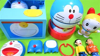 Doraemon and Anpanman, the first popular video by Upyon♪♪ in 2017♪