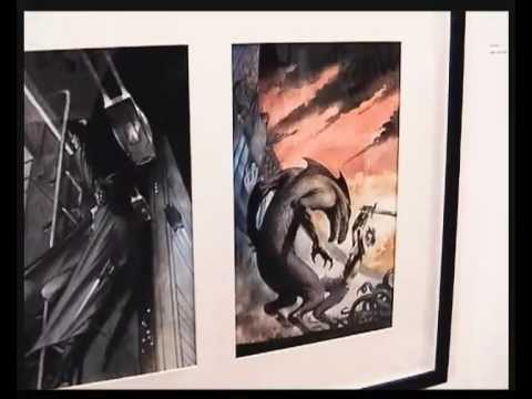 David Lloyd Comic Artist 14: Designing Comic Covers Video