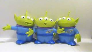 A video review of the Toy Story Collection; 3-Pack Space Aliens