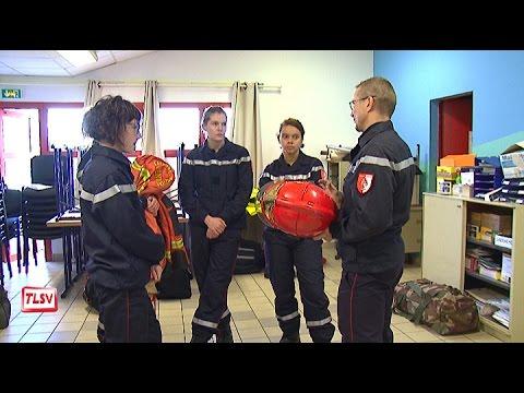 Luçon : les sapeurs pompiers volontaires en formation