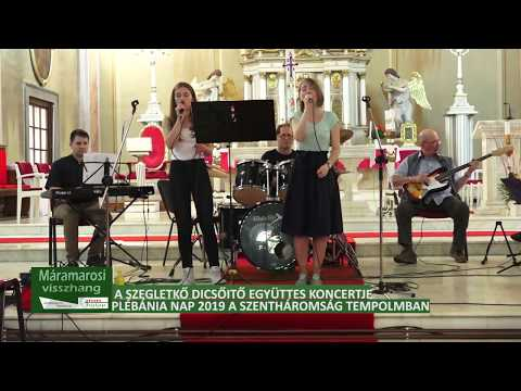 A Szegletkő dícsőítő együttes koncertje a Szentháromság templomban, 2 rész