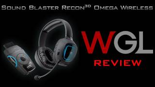 Creative Soundblaster Recon 3D Omega Wireless Review