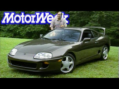 MotorWeek   Retro Review: '93 Toyota Supra Turbo
