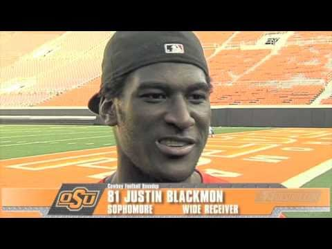 One on One With Justin Blackmon