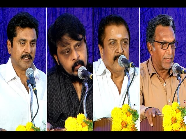 Final Condolences from the industry - Sarathkumar | Sivakumar | Nasser | Vikraman - BW