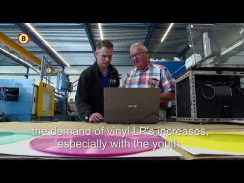 Sustainable record (LP) by Omroep Brabant (Booming Brabant) with English subtitles