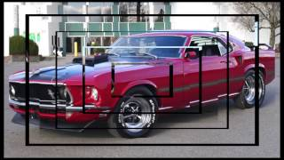 1969 Mustang Mach 1 Red