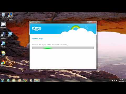 How to easily install Skype on Windows 7