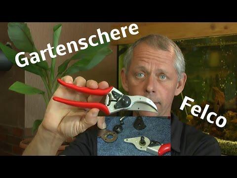 Felco 2 Schere, die Universale für den Profi und Hobbygärtner