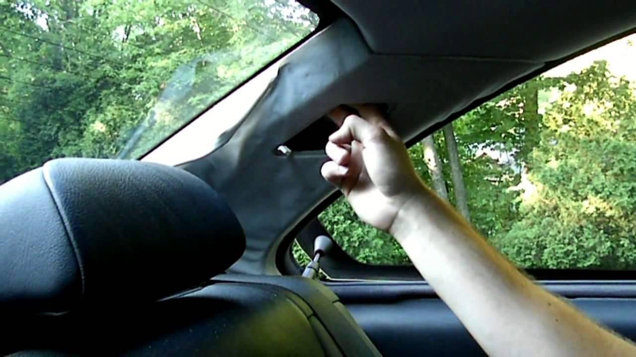 Sagging Roof Upholstery Repair Car S Sagging Roof