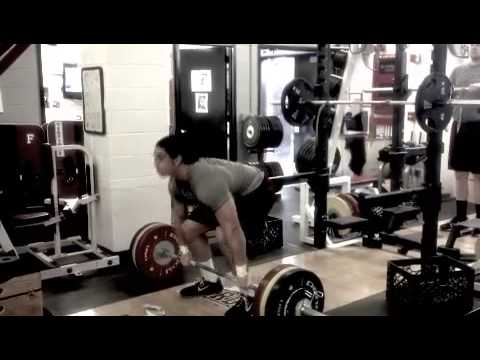 2013 Fordham Football - Winter Strength & Conditioning - Highlight