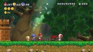 New Super Mario Bros U 100% Walkthrough Episode 13 - World 5 - Soda Jungle (part 2)