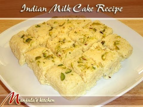 How To Make Milk Cake Indian Sweet