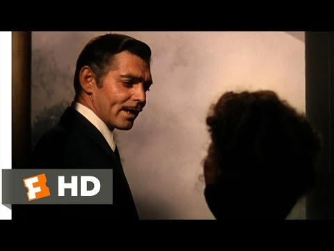 Frankly My Dear, I Don't Give A Damn - Gone With The Wind (6 6) Movie Clip (1939) Hd video