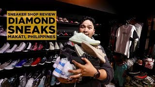 HYPE & RARE SNEAKER SHOP AT THE HEART OF MAKATI: DIAMOND SNEAKS
