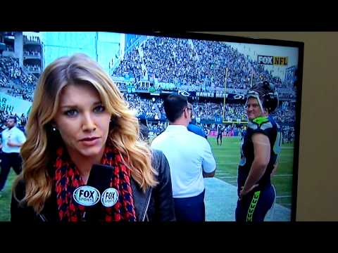 "Seahawks player""Double Eyebrows"" Charissa Thompson thumbnail"