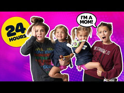 BECOMING PARENTS for 24 Hours Challenge with BABY TWINS **BAD IDEA**