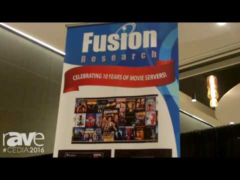 CEDIA 2016: Fusion Research Celebrates 10 of Movie Servers and Invites You to CEDIA 2016 Booth 3020