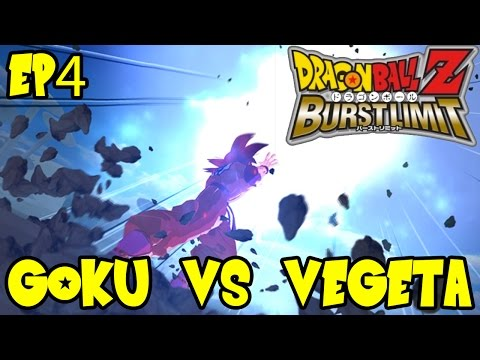 Dragon Ball Z Burst Limit: Goku vs Vegeta! Kamehameha vs Galick Gun! Ep 4