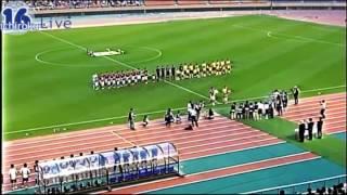 早慶サッカー定期戦 開会式