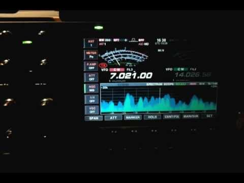 M0EDX&EM20V 7 MHZ AMATEUR RADIO HAM RADIO CW QSO