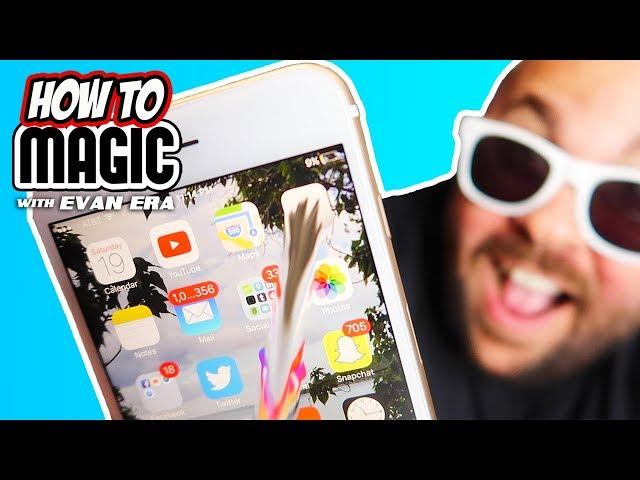 How To Do 8 iPhone Magic Tricks!