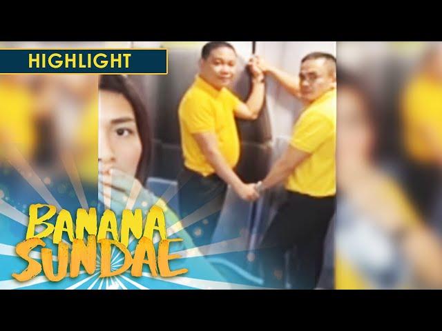 Banana Sundae: Cabin crew went viral
