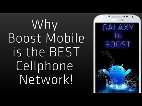 Why Boost Mobile Is THE BEST Cellphone Network / Service / Carrier