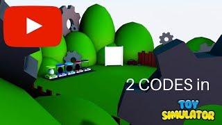NEW! Toy Simulator (2 CODES!)