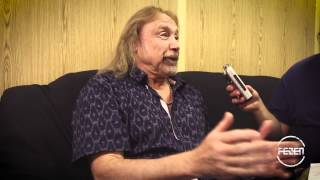 Judas Priest - Ian Hill Interview @ FEZEN 2015