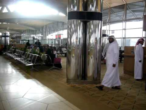 Fountain at Riyadh Air Port Domestic Departures Lounge