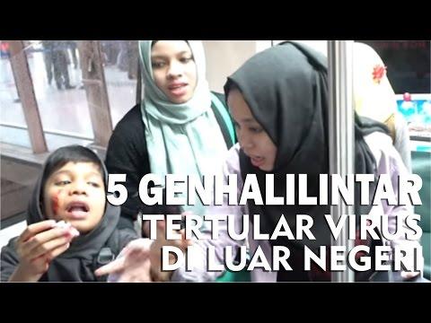 5 Anak Tertular Virus di Luar Negri - GenHalilintar Sakit