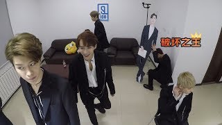 [ENG] Idol Producer EP1 Behind the Scenes: Yuehua Trainees Backstage Camera