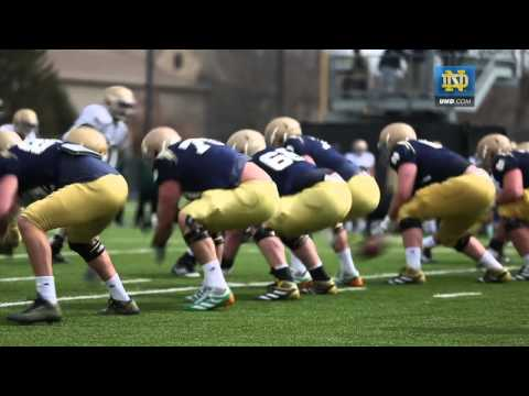 Notre Dame Football Spring Practice Update - April 8, 2013