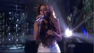 Miley Cyrus - When I Look At You - American Idol 2010