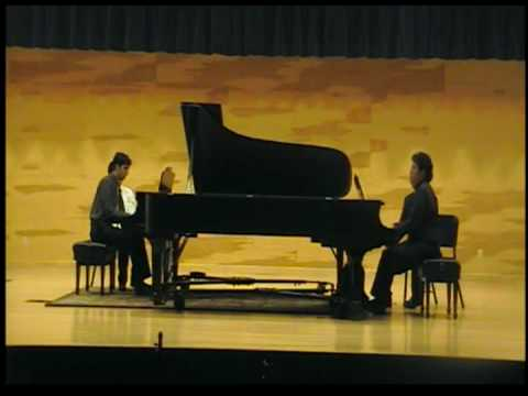 Rachmaninoff Suite no.2 Romanza for 2 pianos