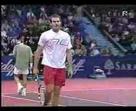 Roger Federer - Best shot ever Video