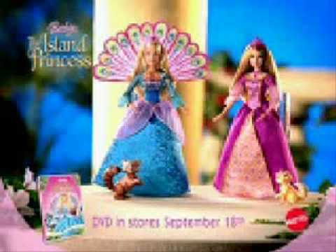 Barbie as the island princess dolls commercial