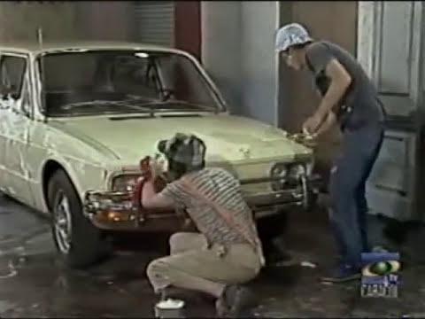 El Chavo del Ocho - Capítulo 227 - Lavando el Carro del Sr. Barriga - 1978