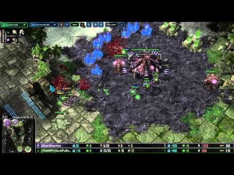 (HD914 ) Scarlett vs GunGFuBanDa - G1 - ZvP - Heart of the Swarm [FR]