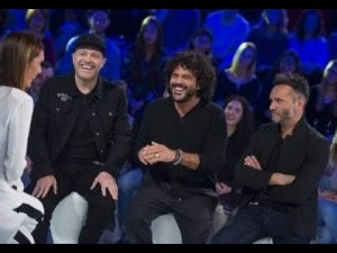 Intervista Pezzali Nek Renga - Le Loro Passioni 11/11/2017
