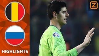 Thibaut COURTOIS maakt GRUWELIJKE BLUNDER 😨 |België vs Rusland| Kwalificatie EK 2020 | Samenvatting