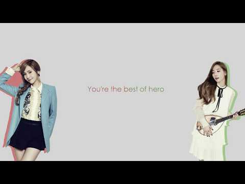 Girls' Generation 少女時代 (SNSD) I'm In Love With The HERO Jap   Rom   Eng Sub