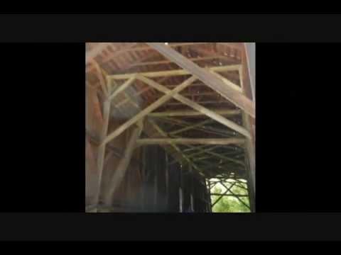 The Old Felton Covered Bridge - Felton, California